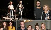 Λαμπερές παρουσίες στην επίσημη πρεμιέρα της παράστασης Οι κάτω απ' τ' αστέρια